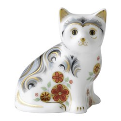 Royal Crown Derby Nice Kitten Paperweight