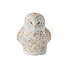 Royal Crown Derby Owlet Paperweight