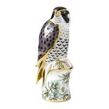 Royal Crown Derby Peregrine Falcon Paperweight