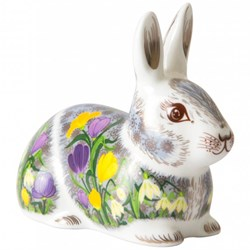 Royal Crown Derby Springtime Bunny Paperweight