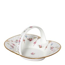 Royal Crown Derby Royal Antoinette Heather Basket