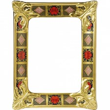 Royal Crown Derby Old Imari Solid Gold Band Frames