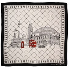 Halcyon Days London Icons Silk Scarf