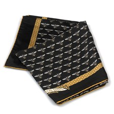 Halcyon Days Bee's Trellis Silk Scarf