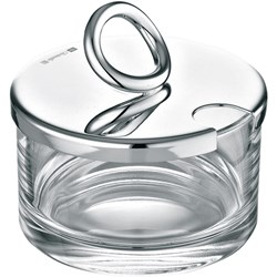 Christofle Vertigo Silver Plated Lidded Cheese/Jam Dish