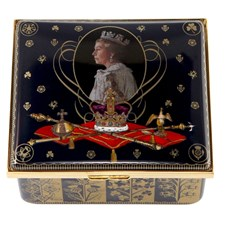Halcyon Days 65th Anniversary of the Coronation Music Box