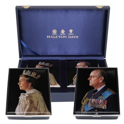 HM The Queen & HRH The Duke of Edinburgh'a 70th Wedding Anniversary Box Set