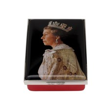 Halcyon Days HM The Queen Portrait Box