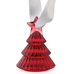 Lalique Crystal Christmas Tree Decoration