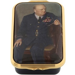 Halcyon Days Churchill Portrait By Chandor Box
