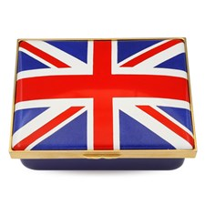 Halcyon Days The Union Jack Flag Box