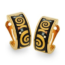 Freywille Gustav Klimt Bloch-Bauer Creole Earrings, Posts
