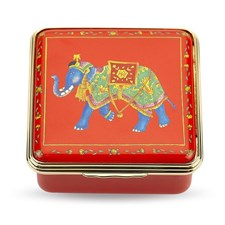 Halcyon Days Ceremonial Indian Elephant Red Box