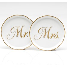 Herend Mr & Mrs Coasters