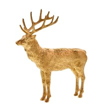 Goldplated Bronze Stag