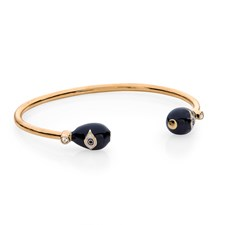 Halcyon Days Evil Eye Torque Bangle