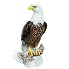 Meissen Bald Eagle Figurine