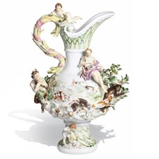 "Meissen ""Four Elements- Earth"" Vase"
