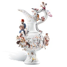 Meissen Four Elements Fire Vase
