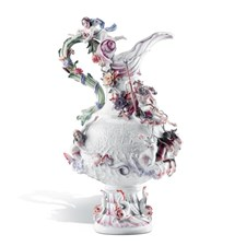 Meissen Four Elements Water Vase