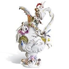 Meissen Four Elements Air Vase