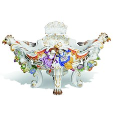 Meissen Basket of Count Bruhl's Centerpiece