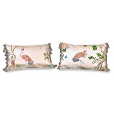 Vintage Birds Inspired Pillows