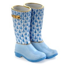 Herend Pair of Rain Boots