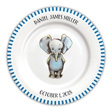 Baby Boy Personalized Plates