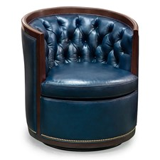 Swoon Memory Swivel Chair, Cavalier Navy