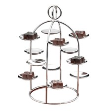 Latitude Silverplated Petits-Fours Stand