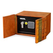 Leather Books Safe