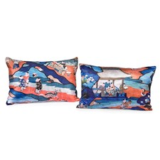Chinoiserie Childhood Pillows