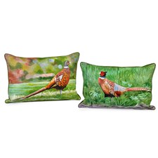 Pheasant Silk Pillows