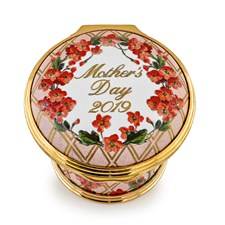 Halcyon Days 2019 Mother's Day Enamel Box