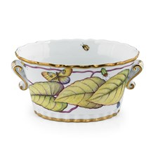 Anna Weatherley Yellow Flower Small Cachepot