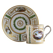 Le Timbalier Chinois Litron Cup & Saucer