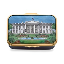 Halcyon Days Washington in the Summer Enamel Box