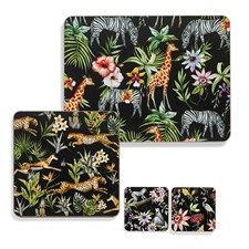 Jungle Wildlife Table Mats & Coasters
