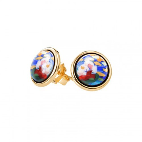 Freywille Claude Monet Orangerie Cabachon Stud Earrings