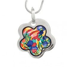 Freywille Claude Monet Giverny Flower Pendant