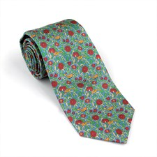 Bird in the Hand Silk Tie