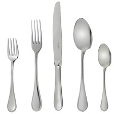 Christofle Albi Alcier Stainless Steel Flatware