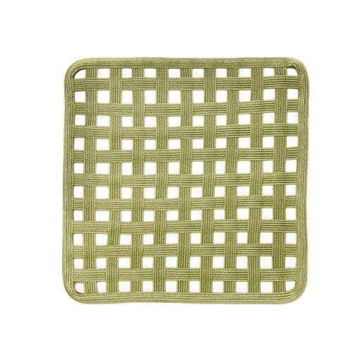 Open Lattice Linen Braid Square Placemats