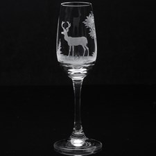 Queen Lace Crystal Sherry/Tequila Glasses, American Wildlife
