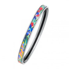 Freywille Claude Monet Giverny Bordered Ultra Bangle