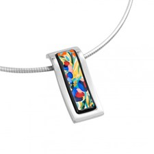 Freywille Claude Monet Giverny Wave Pendant