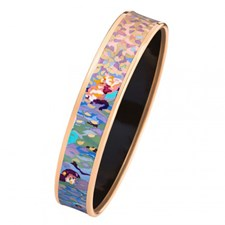 Freywille Claude Monet Orangerie Rose Miss Bordered Bangle