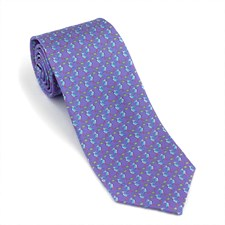 Heron Silk Ties
