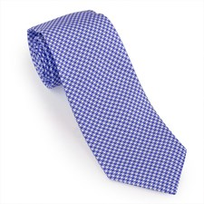Oxford Houndstooth Silk Ties